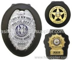 Neck Badge Holder Wallet/ Police Badge Holder Wallet/ ID Holder