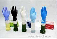 nitrile examination hand glove