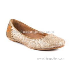 beautiful shiny fashion glitter dress shoes