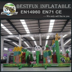 Inflatable Parcours Zoo Obstacle Course Supplier