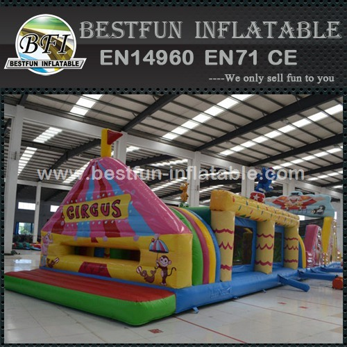 Circus Obstacle Course Bounce House Rental