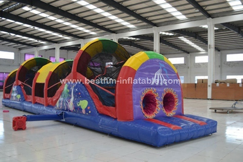 Inflatable Circus Obstacle Challenge