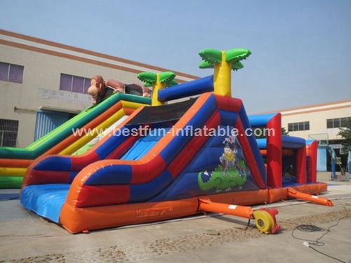 Obstacle Course Inflatable Party Rental