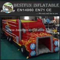 Inflatable Big Truck Obstacle Course
