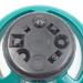 Plastic 8 Pattern Garden Stationary Sprinkler