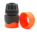 Plastic soft 3/4 inch water hose pipe snap-in quick connector