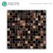 Bathroom Coloured Wall Tiles Design Gold Line Hot Melt Crystal Glass Mosaic Tile Backsplash For Kitchen