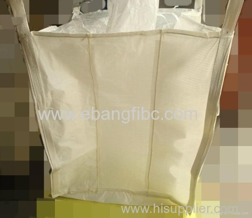 ton bag with baffle and cotton sliver