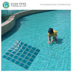 Ice Fissure Wholesale Ceramic Mosaic Tiles For Swimming Pool