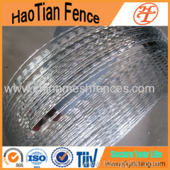 HOT-DIPPED GALVANIZED AND SS Razor Barbed Wire