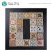 Decorative Bath wall Flower Ceramic Glaze Lanka Tile Price