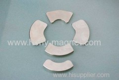 stark gesinterten Seltenerd-Segment gesinterten Neodym-Magneten ndfeb Bogen für Rotoren