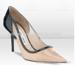 Hot sale good quality cut out high heel dress shoes