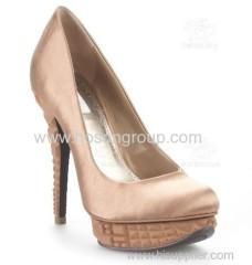 customized design women fashion high heel pumps