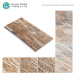 300x600mm Ceramic 3d Stone Look Exterior Wall Tile