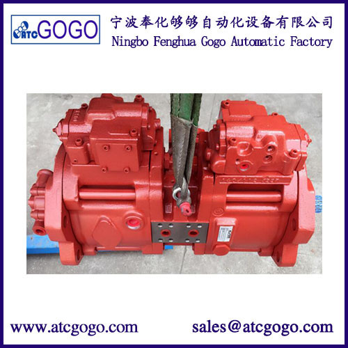 Kawasaki hydraulic pump for doosan excavator parts