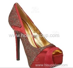 New Europe sexy wedding high heel drsss shoes