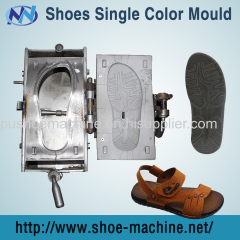 PU scarpe stampo singolo colore