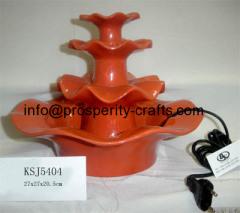Ceramic tabletop Fountain .