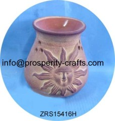 Ceramic Oil burner .