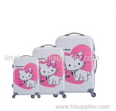 2016 nieuwste ontwerp heet verkoop nieuw design kartonnen ABS + PC bagage reist bagage tas trolley tas