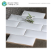 High Gloss Cheap Glazed Ceramic Little Round Subway Wall Tile Look Like Bread For Kitchen