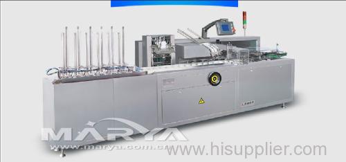 Cartoning Machine for sachet/condom/adhesive bandage/soft ALU strip/plaster/coffee tea bag