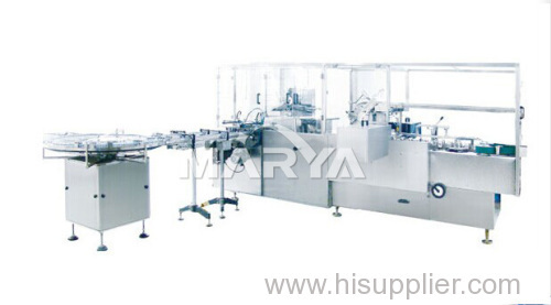 Automatic Cartoning machine for Vials