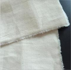 China bleached grey cotton fabric material