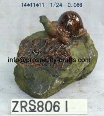 Ceramic Glazed Stone .