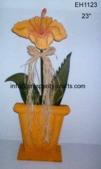 Artificial Flower with Pot .