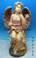 Poly resin Angel statue