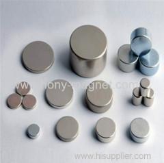 piccoli forti circolari sinterizzate dischi magnetici al neodimio N35 D12 * 1.5mm per il pacchetto