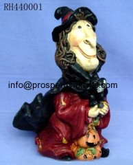 Poly resin Halloween Figurine