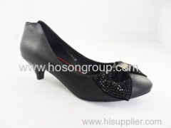 Good quality customized design lady flat dress shoes