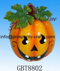 Ceramic / Dolomite Halloween Pumpkin