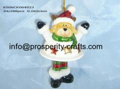Christmas Hanging Snowman / Santa Claus