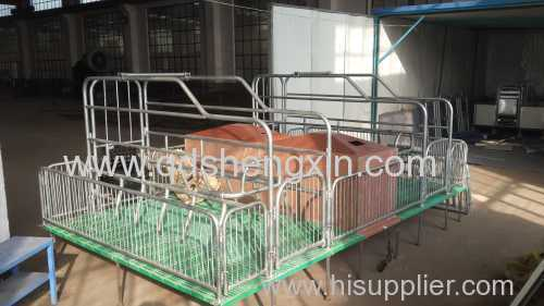 High Quality Double Farrowing Crate for pigs