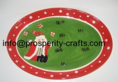Ceramic Christmas Plates and other Kitchenware