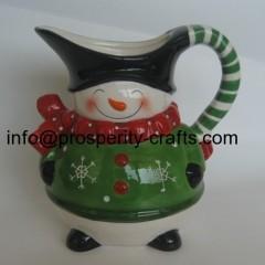 Ceramic Snowman Jar and other Kitchenware