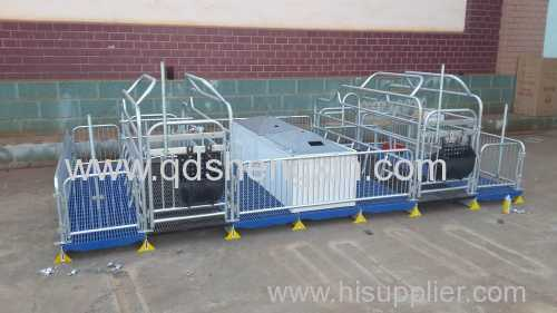 Double Farrowing Crate For Pigs