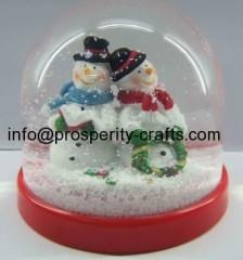 Plastic Christmas Snowglobe / waterglobe
