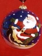 Glass Christmas Hanging ball