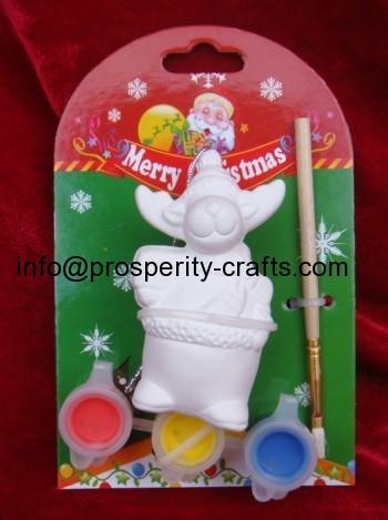 Ceramic Christmas DIY painting set