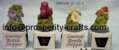 Polyresin Bottle Stopper (souvenir)
