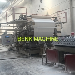 PVC artificial marble decorative sheet making machinery