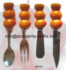 Polyresin Spreader / Spoon / Knife / Fork set