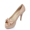 light pink women high heel dress sandals