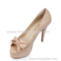 light pink lady high heel dress sandals