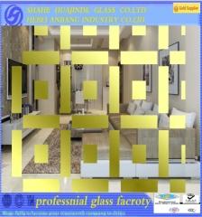 titanium glass/ decorative glass/ art glass